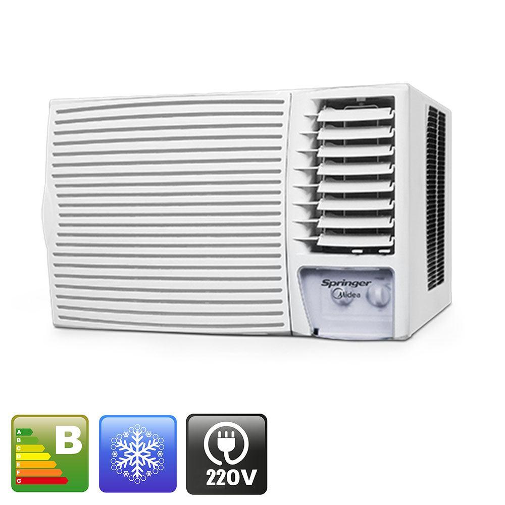 25d1a5b0f Ar condicionado de janela springer midea 12.000 Btu h frio mecânico ...
