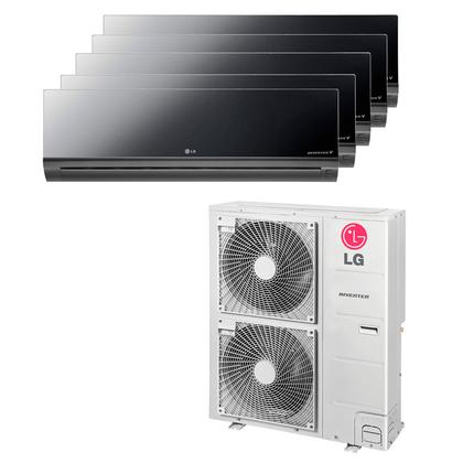 Ar-Condicionado-Multi-Split-Inverter-LG-Artcool-40.000-Btus--2x-Evap.-9.000-Btus---2x-Evap.-12.000-Btus--1x-24.000-Btus--Quente-e-Frio-220v