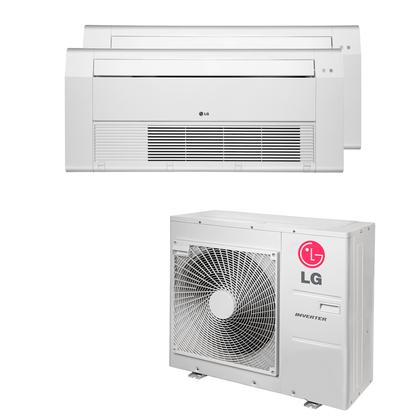 Ar-Condicionado-Multi-Split-Cassete-1-Via-LG-21.000-Btus--1x-Evap.-9.000---1x-Evap.-12.000--Quente-e-Frio-220v