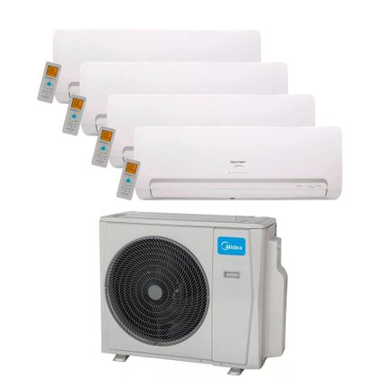 Ar-Condicionado-Multi-Split-Inverter-Springer-Midea-36.000-Btus--4x-Evap.-HW-12.000--Quente-e-Frio-220v
