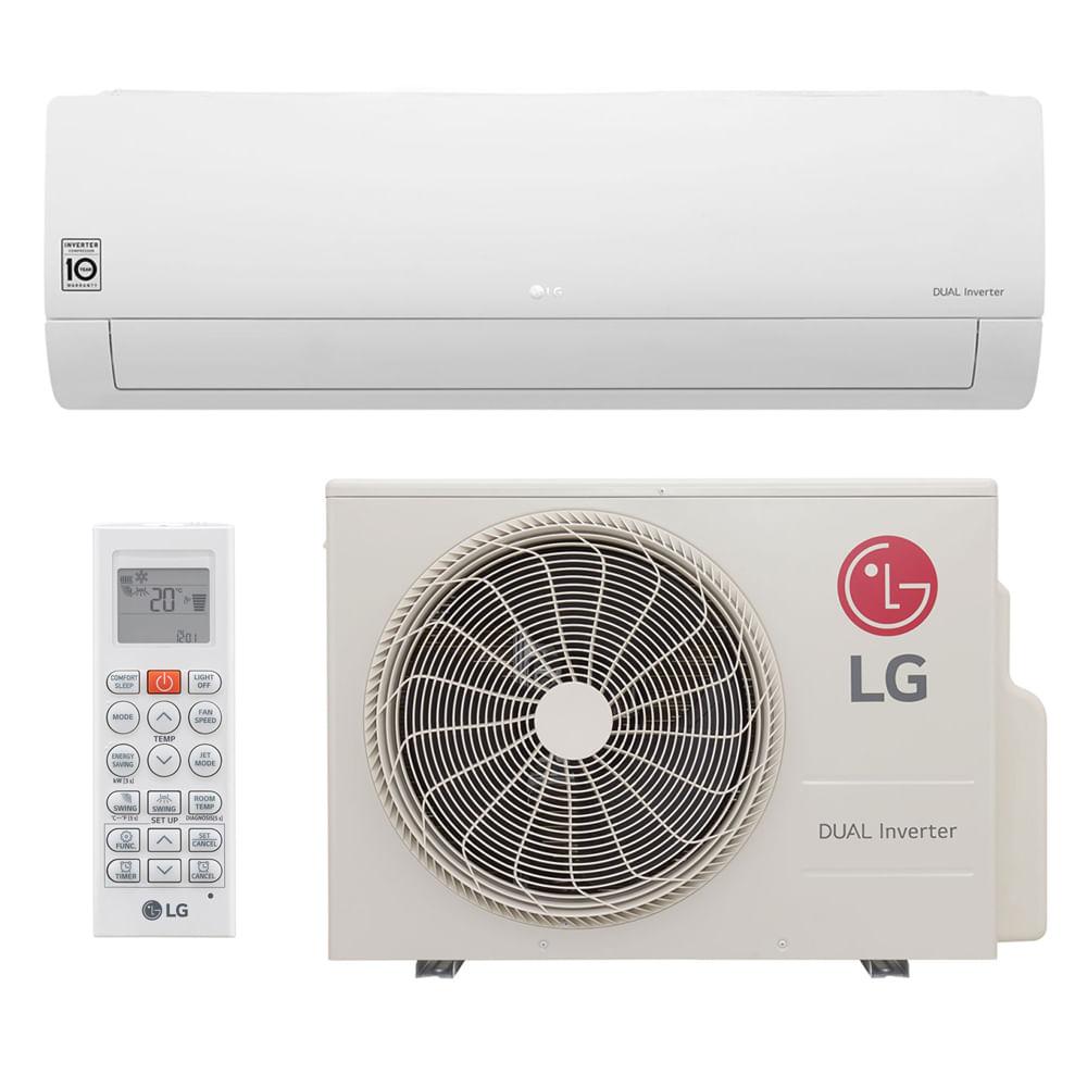 9d98089f7 Ar Condicionado Split Dual Inverter LG 12.000 Btus Quente e Frio 220v -  ClimaRio