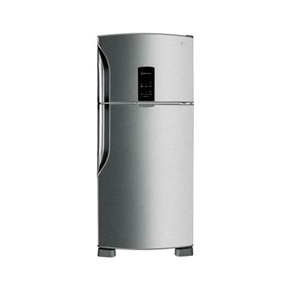 Refrigerador-Top-Freezer-LG-Fresh---Light-435L-Aco-Escovado-220V