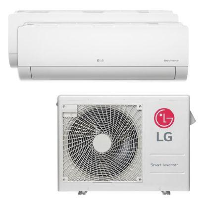 Ar-Condicionado-Multi-Split-Inverter-LG-24.000-Btus--1x-Evap-12.000---1x-Evap-24.000--Quente-e-Frio-220v