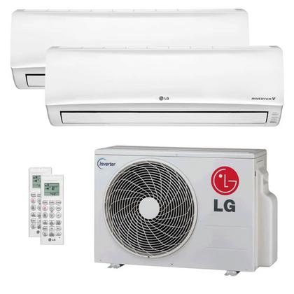 Ar-Condicionado-Multi-Split-Inverter-LG-30.000-Btus--2x-Evap-24.000--Quente-e-Frio-220v