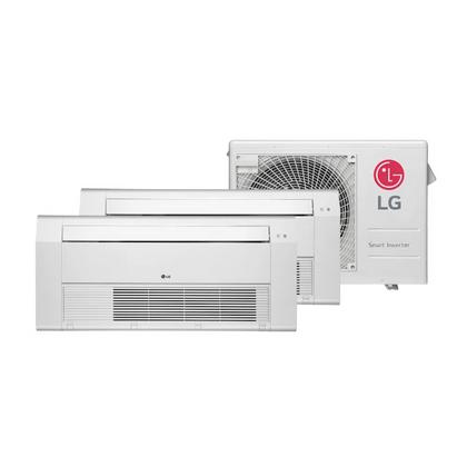 Ar-Condicionado-Multi-Split-Inverter-LG-18.000-Btus--2x-Evap-Cassete-12.000--Quente-e-Frio-220v