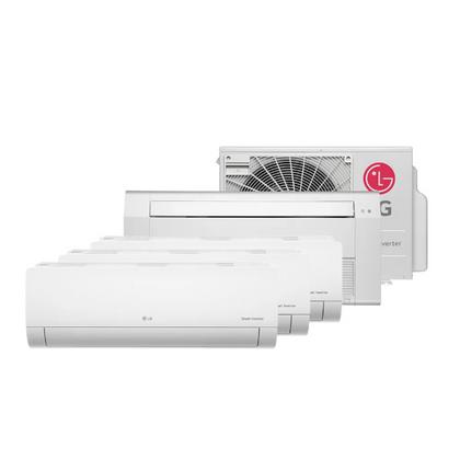 Ar-Condicionado-Multi-Split-Inverter-LG-30.000-Btus--3x-Evap-Hi-Wall-9.000---1x-Evap-Cassete-18.000--Quente-e-Frio-220v