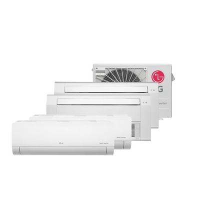 Ar-Condicionado-Multi-Split-Inverter-LG-30.000-Btus--2x-Evap-Hi-Wall-9.000---1x-Evap-Cassete-9.000---1x-Evap-Cassete-18.000--Quente-e-Frio-220v