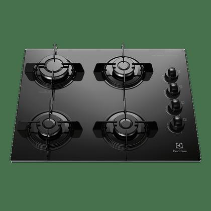 Cooktop-a-Gas-4-Bocas-Electrolux-KE4GP-Preto-Bivolt