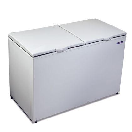 Freezer-e-Refrigerador-Horizontal-Metalfrio-419l-DA420-Branco-127v