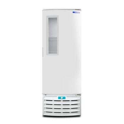 Freezer-Vertical-Tripla-Acao-Porta-com-Visor-509-Litros-Metalfrio-VF55FT-Branco-127V